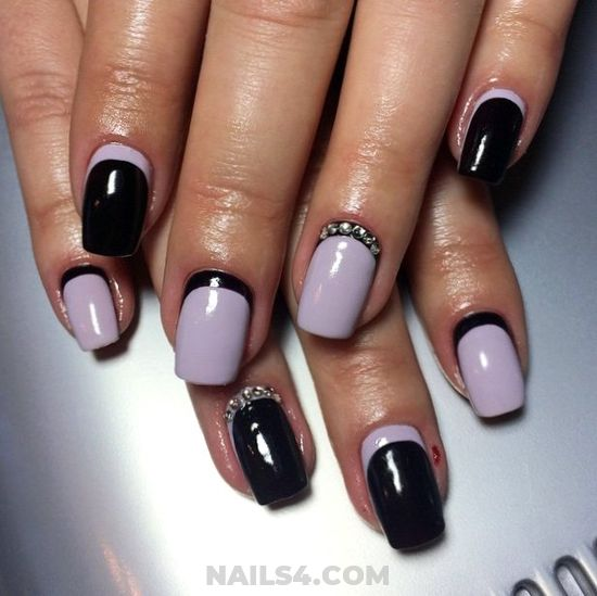 Delightful & Easy Gel Nail Art Ideas - nail, nailartdesigns, best, gotnails