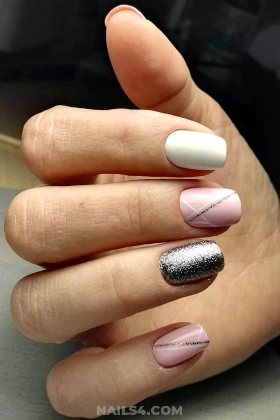 Delightful Hot French Nail Style - top, fashion, nails, nailideas, best