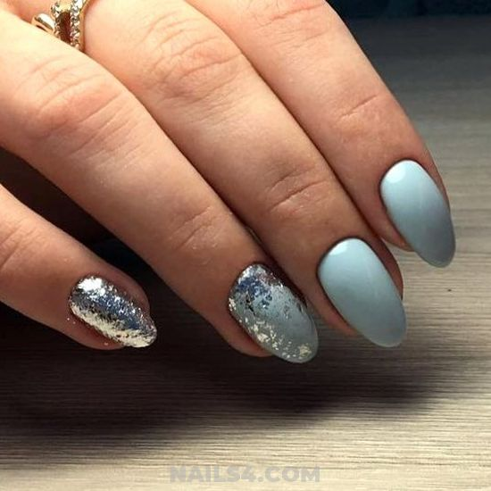 Dream Wonderful Gel Nails Art Design - glamour, love, nail, nailartdesign