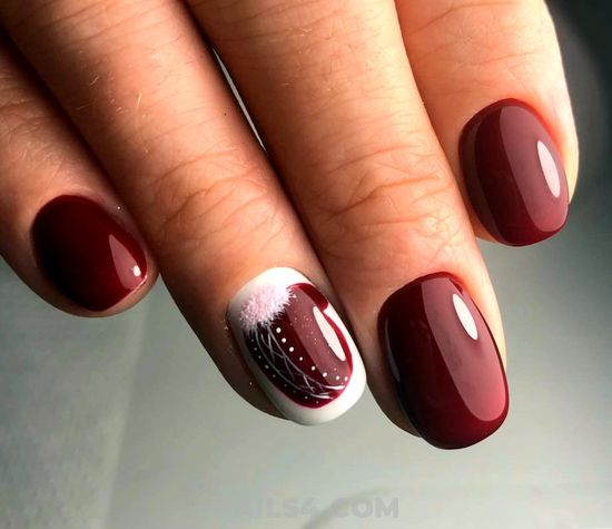 Dreamy And Nice French Nail Design Ideas - teen, nails, nailidea, gorgeous