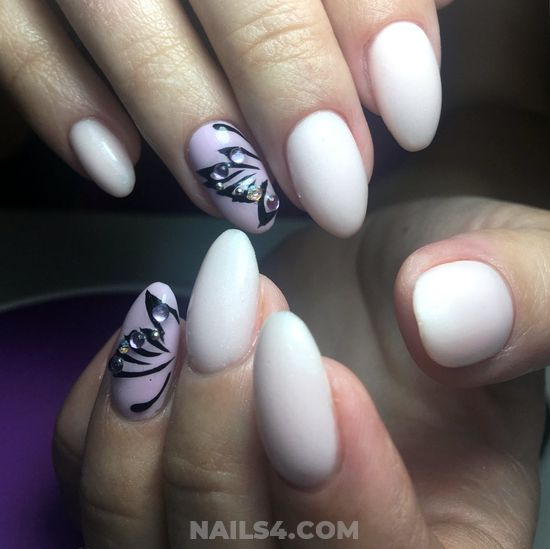 Dreamy And Trendy Acrylic Nail Design - nails, ideas, smart, beautytutorial
