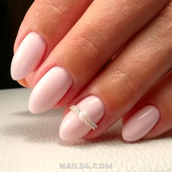 Dreamy Lovable French Gel Manicure Design Ideas - nail, adorable, diy, loveable