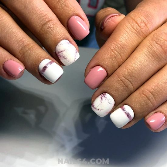 Easy And Best Gel Manicure Art Design - star, fashion, naildesign, nails