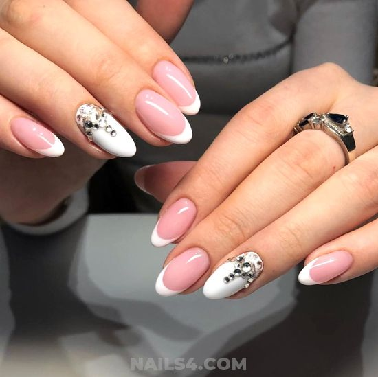 Easy And Charming Gel Nail Design - nails, charming, sweet, hilarious