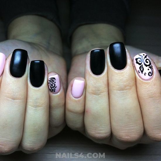 Easy Elegant Gel Nail Art - diynailart, nails, artful, handsome