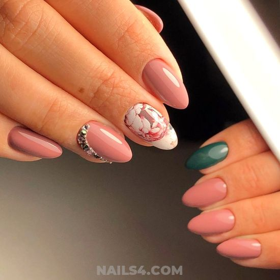 Elegant And Incredibly Acrylic Manicure Design Ideas - elegant, nail, weekend, sexy