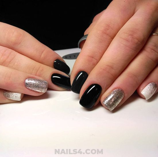 Elegant And Loveable American Nail Ideas - wonderful, nail, acrylic, classic