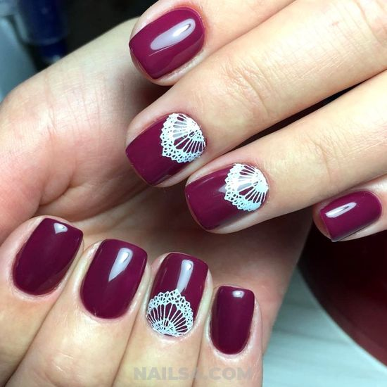 Elegant & Handy Gel Nail Ideas - nailsdone, nailstyle, nail, cool