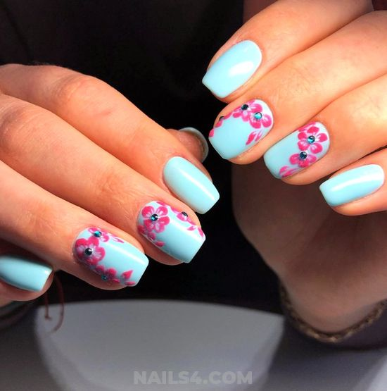 Fantastic Hot Gel Manicure Design - nailideas, nails, glamour, beauty