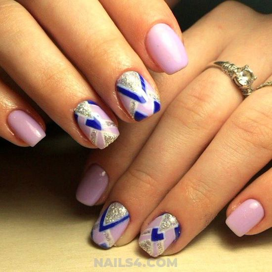 Fantastic & Pretty American Manicure Art Ideas - graceful, star, neat, cool, nail
