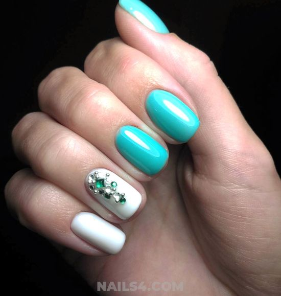 Fashion And Neat Acrylic Nails Design - nailswag, artful, nailidea