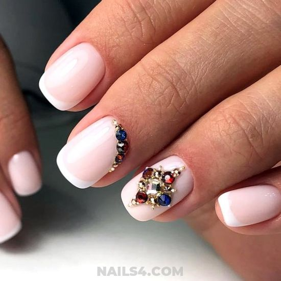 Fashion Simple Gel Nails Style - nail, lifestyle, sweet