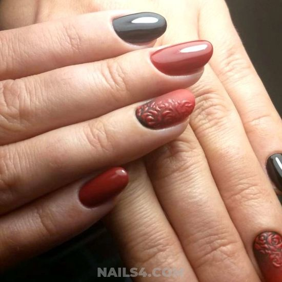 Fashionable And Hot Acrylic Manicure Art - naildesigns, cutie, party