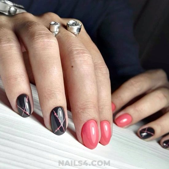 Fashionable & Simple Gel Nail Trend - nail, nailartideas, teen, plush, diy