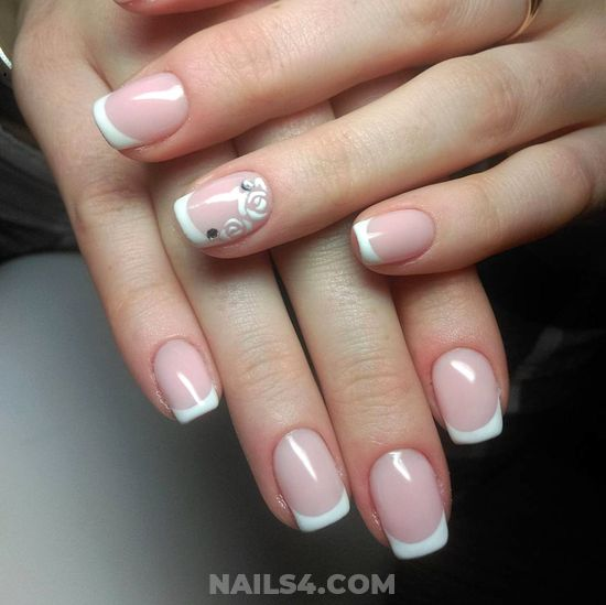 Fashionable & Super American Nail Design Ideas - wonderful, nail, amusing, fashion