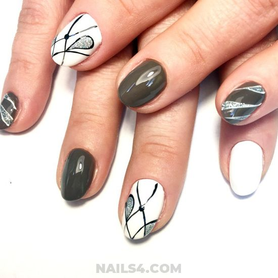 Feminine Orderly Acrylic Nail - nails, nailartideas, magic, lovable