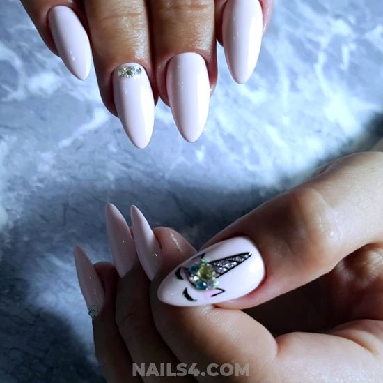 Fresh And Top Gel Manicure Design Ideas - design, nails, nailidea, sexiest