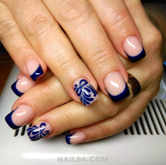 Girly And Lovely American Gel Manicure - art, perfect, nail, clever, furnished