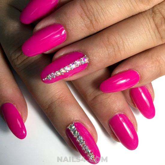 Girly Gel Nail Art Design - gorgeous, pretty, artful, diy, nail