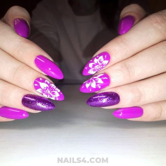 Girly & Simple American Manicure Art - awesome, nails, nailidea, clever