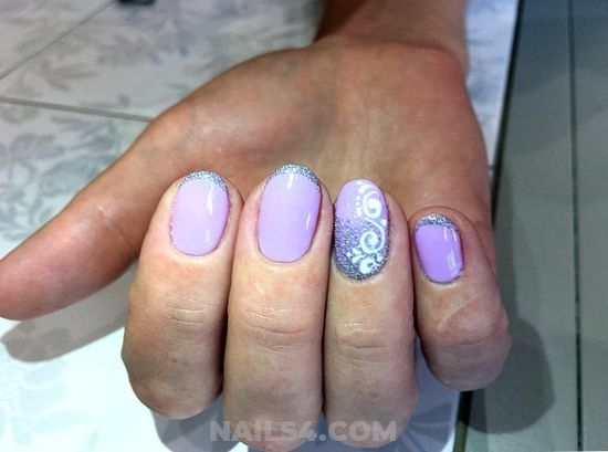 Glamour Dream American Nail Art Ideas - gel, wonderful, nailstyle