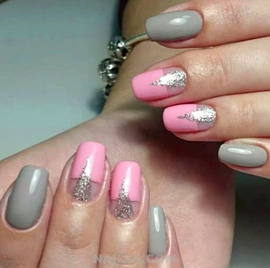 Glamour & Fashion Gel Manicure Art - enchanting, nail, naildesign, star