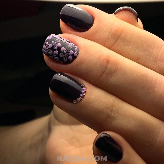 Gorgeous Ceremonial Manicure Idea - loveable, cutie, gel