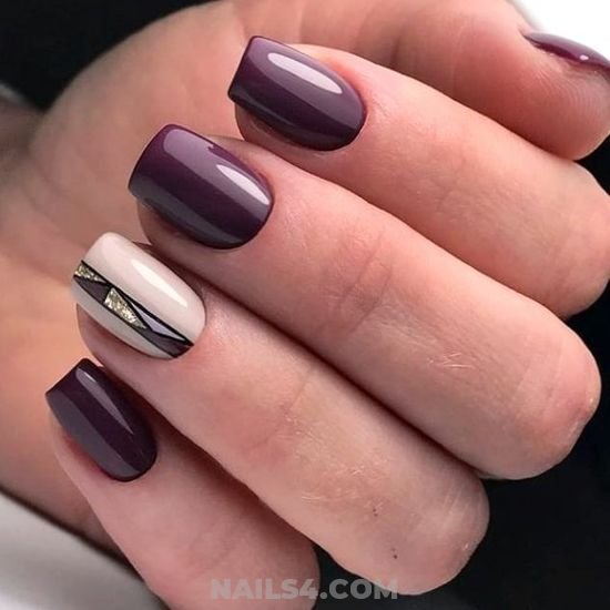 Gorgeous Charming Gel Manicure Ideas - shiny, hilarious, nailartideas, nail