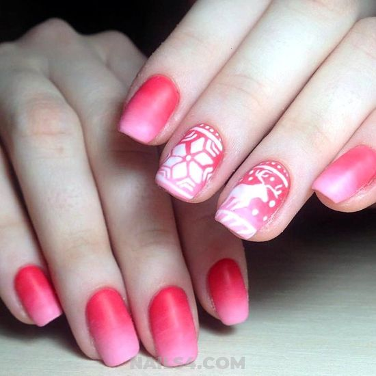 Gorgeous & Cutie Gel Manicure Design Ideas - lovable, nail, ideas, cunning
