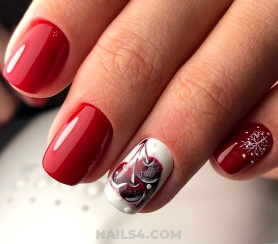 Gorgeous & Feminine Gel Manicure Design - best, naildesigns, nails, beauty