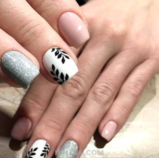 Graceful And Chic Gel Manicure Trend - nailstyle, nails, art, cutie