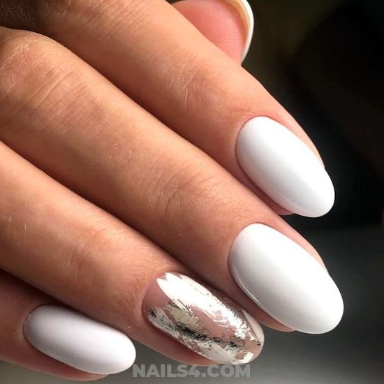 Graceful & Chic Gel Nails Trend - clever, nail, gorgeous