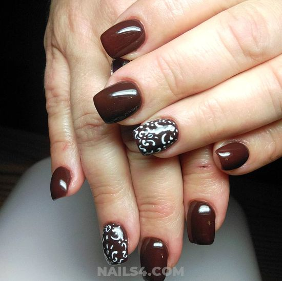 Graceful & Creative French Gel Manicure Art - lovely, cunning, nail, gelpolish
