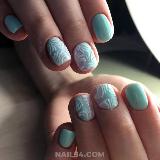 Handy And Attractive French Acrylic Manicure - top, cool, graceful, weekend