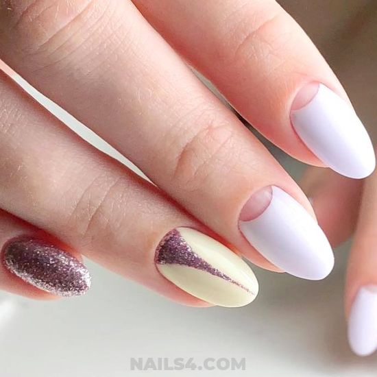 Handy And Awesome Acrylic Manicure Art Design - dainty, vacation, nailideas