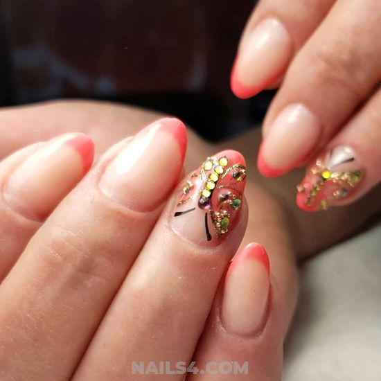 Handy And Cute American Acrylic Manicure Style - nails, nailidea, gel, best, sweetie