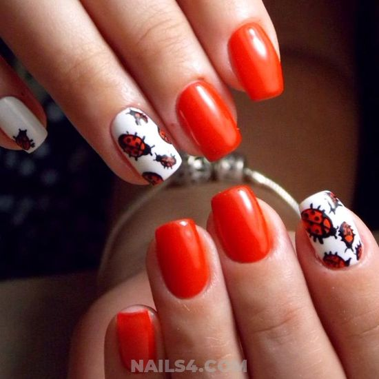 Handy Best American Gel Nails Design Ideas - plush, goingout, nails, nailidea
