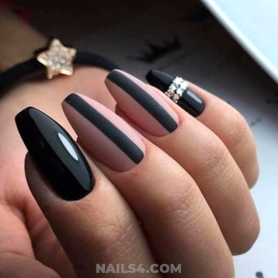 Handy Casual Nails Idea - fashion, naildesign, art