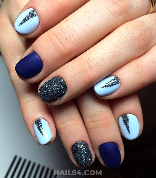 Handy Cool Gel Nail Design Ideas - hilarious, diy, star, nailstyle, nail