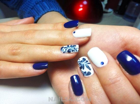Hot And Beautiful French Nails Design - sexiest, gelpolish, naildesign, nail