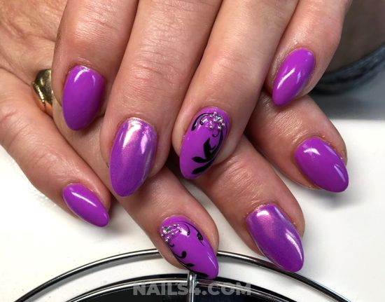 Hot And Beautiful Gel Nail Style - gel, nailideas, nail, getnails, sweet