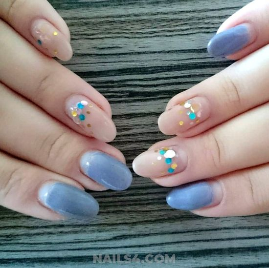 Hot And Creative American Manicure Ideas - naildesigns, nails, best, gel