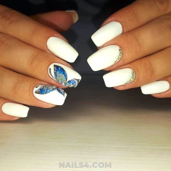 Iconic & Dreamy American Acrylic Manicure Ideas - nails, glamour, nailswag, gelnails