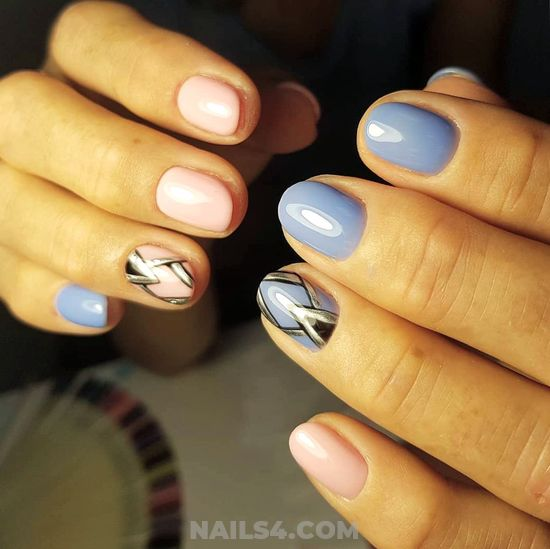 Incredibly & Dream Gel Manicure Trend - idea, nice, nails, handsome