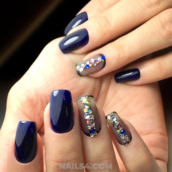 Inspirational And Birthday Gel Manicure - cool, gel, trendy