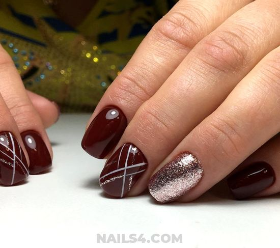 Inspirational And Classic Acrylic Manicure Art - nails, hilarious, diy