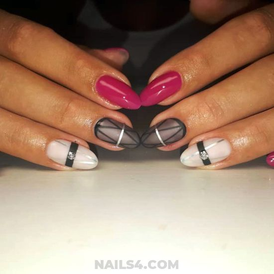 Inspirational And Creative Gel Nails Art Ideas - fashion, selection, gel