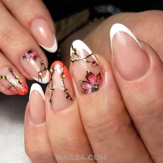 Inspirational And Fashionable Gel Manicure Art - fashion, nails, nailartdesigns, sexy
