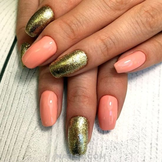 Lovable And Feminine Gel Nails Ideas - gotnails, nails, star, neat, charming