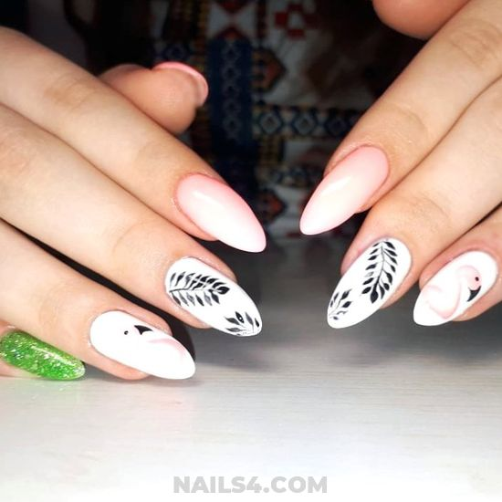 Lovable & Dainty Gel Nails Design - hollywood, nailstyle, nail, nice